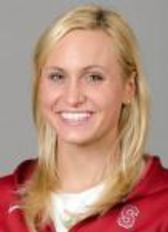 Photo - STANFORD, CA - September 27th, 2011: Stanford Swimming athlete portrait.