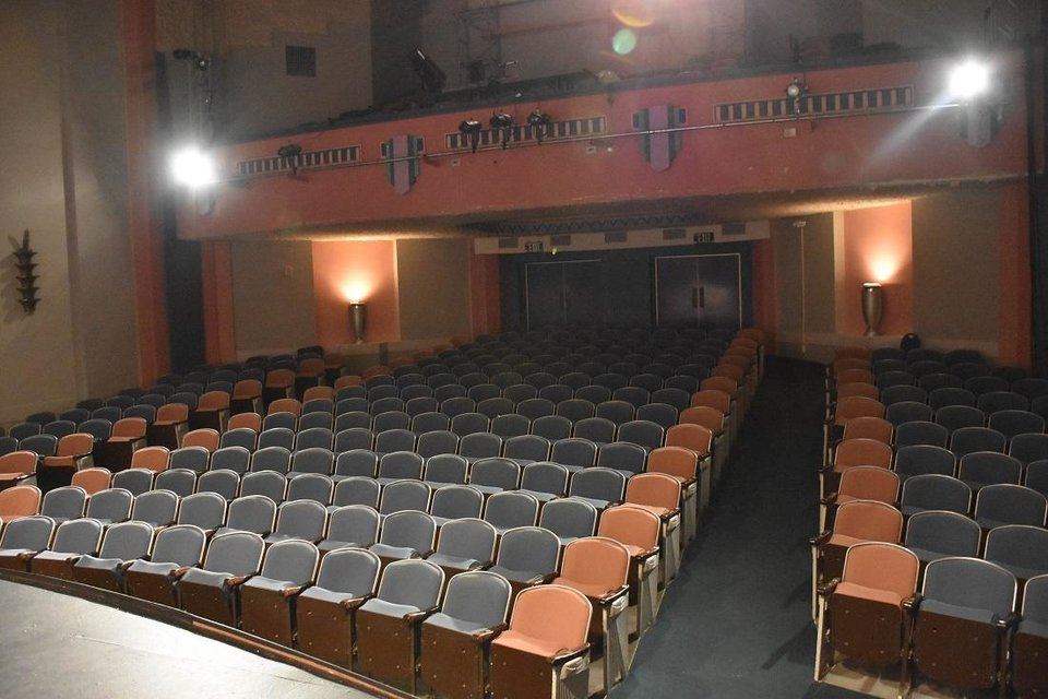 Photo - The Civic Center's Freede Little Theatre is due to undergo a full remodel as part of $9.4 million in bond funding approved by Oklahoma City voters in 2017.[Photo provided]