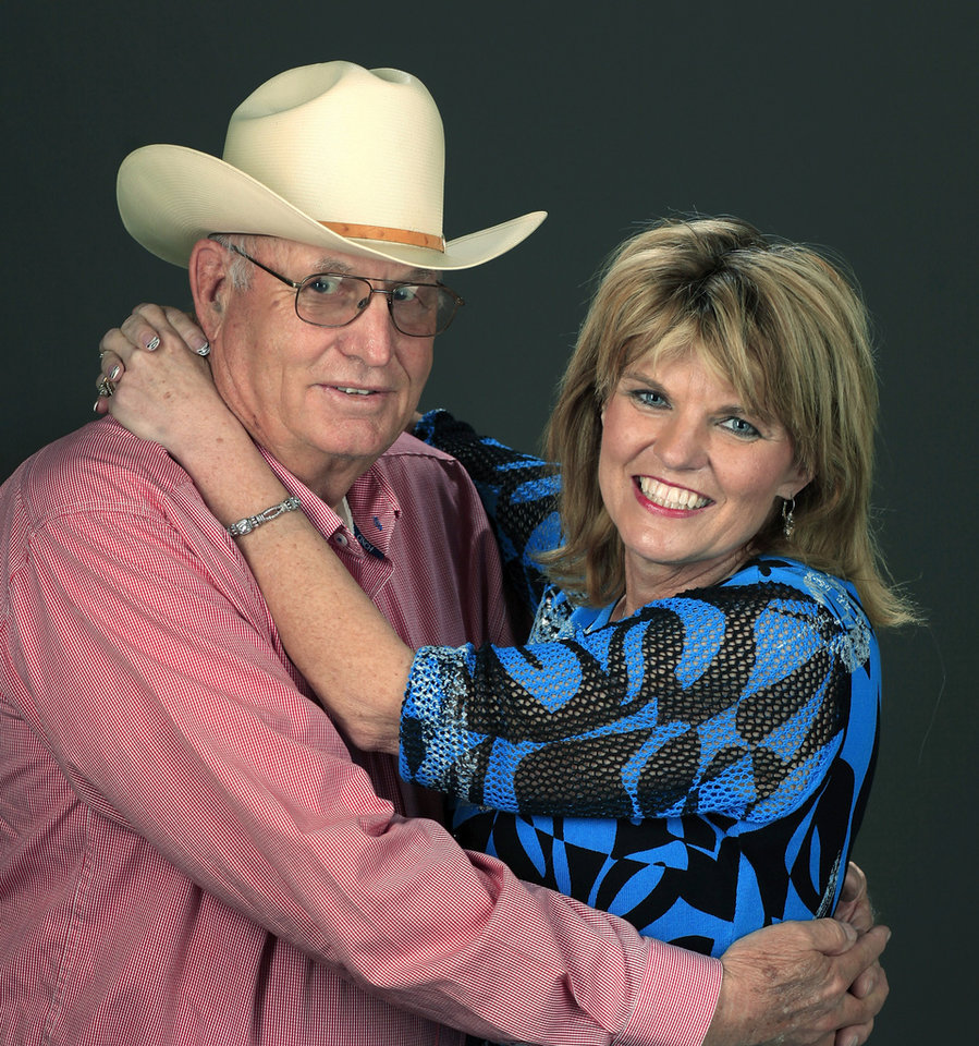 "RAYMOND TEMPLE: Principal female character in the movie ""Footloose"" is  based on Oklahoma native Mary Ann Temple-Lee, shown here with her dad, Raymond. They posed in the studio,  Friday, April 9, 2010. Photo by Jim Beckel, The Oklahoman ORG XMIT: KOD"