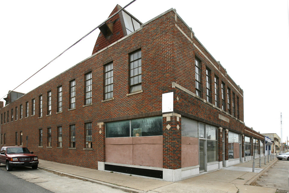 Photo - The Film Exchange building, shown in this 2006 photo, had been empty for years when it was bought by developer Chip Fudge.  PAUL HELLSTERN