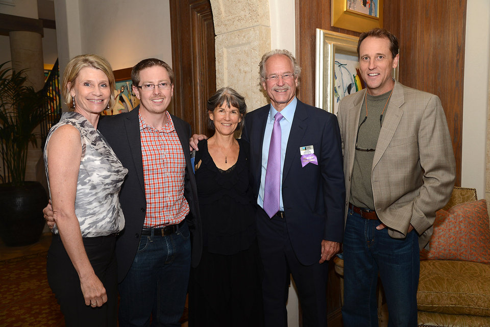 Photo - Jeanetta Dobson, Kyle Sims, Sherrie McGraw, Peter Hoffman, Russell Case.