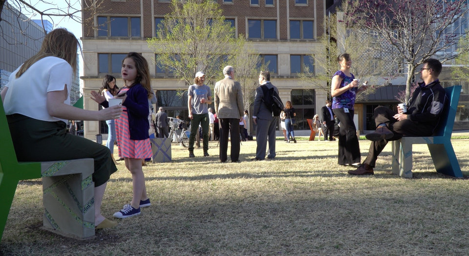 Photo -  Crowds gathered Thursday at Hightower Park, 208 Patience Latting Circle, to celebrate the addition of