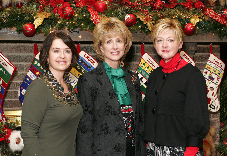 Beverly Funke, Sherry Beasley and Jane Thompson. - PHOTO BY DAVID FAYTINGER,  FOR THE OKLAHOMAN