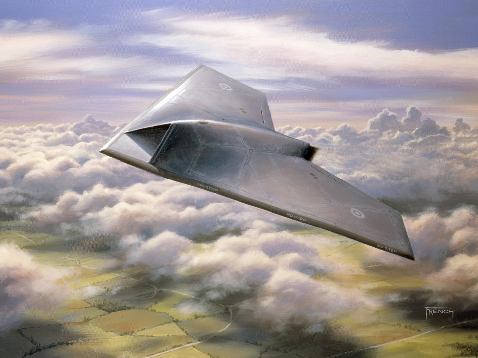 Photo - FILE- In this undated artist's rendering provided by BAE Systems, Taranis aircraft is shown. A new United Nations draft report posted online this week objects to the use of weapons systems like the Taranis that can attack targets without any human input. The report for the U.N. Human Rights Commission deals with legal and philosophical issues involved in giving robots lethal powers over humans, echoing countless science-fiction novels and films.  (AP Photo/BAE Systems)  UNITED KINGDOM OUT; NO SALES; NO ARCHIVE