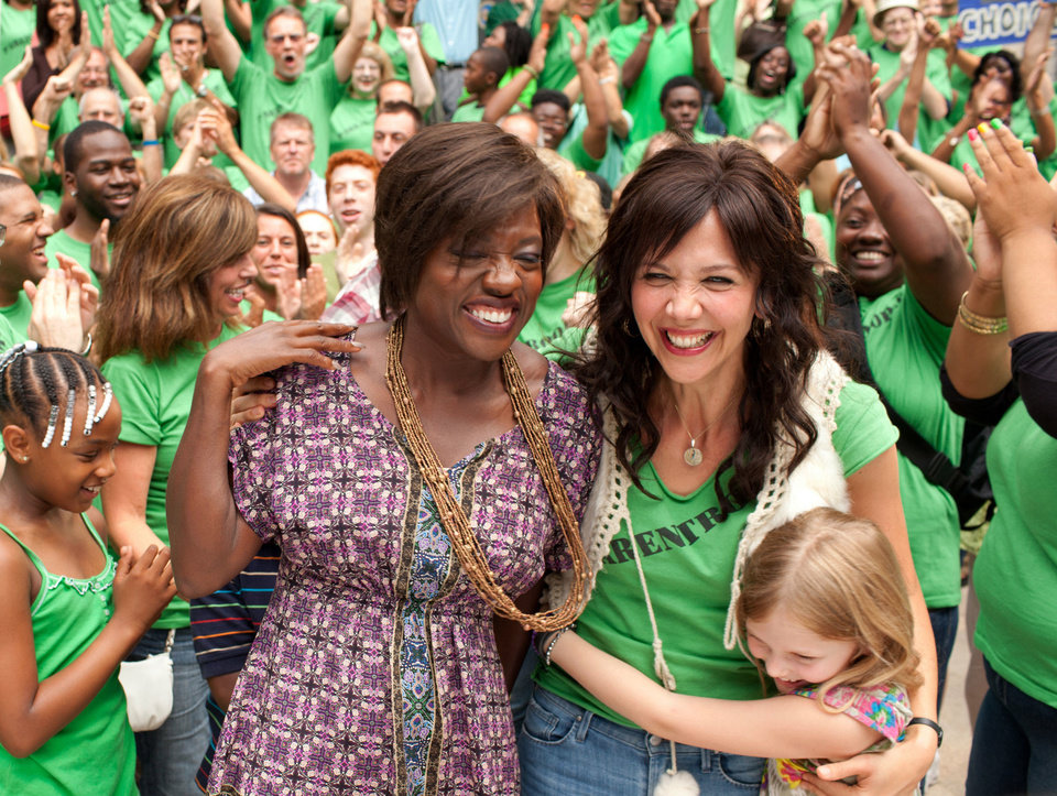 "This film image released by 20th Century Fox shows Maggie Gyllenhaal, right, and Viola Davis in a scene from ""Won't Back Down.""  AP Photo/20th Century Fox, Kerry Hayes <strong>Kerry Hayes - AP</strong>"