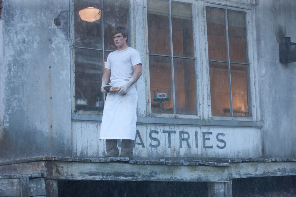 "Josh Hutcherson stars as Peeta Mellark, the ""boy with the bread,"" in ""The Hunger Games."" PHOTO PROVIED. <strong>Photo credit: Murray Close</strong>"
