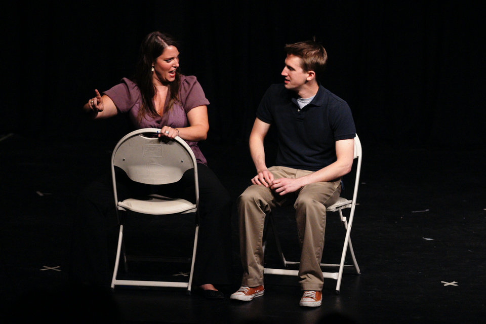 The Dallas duo Manick will perform Friday at the fourth annual Improv Festival Oklahoma. Photo provided. <strong></strong>