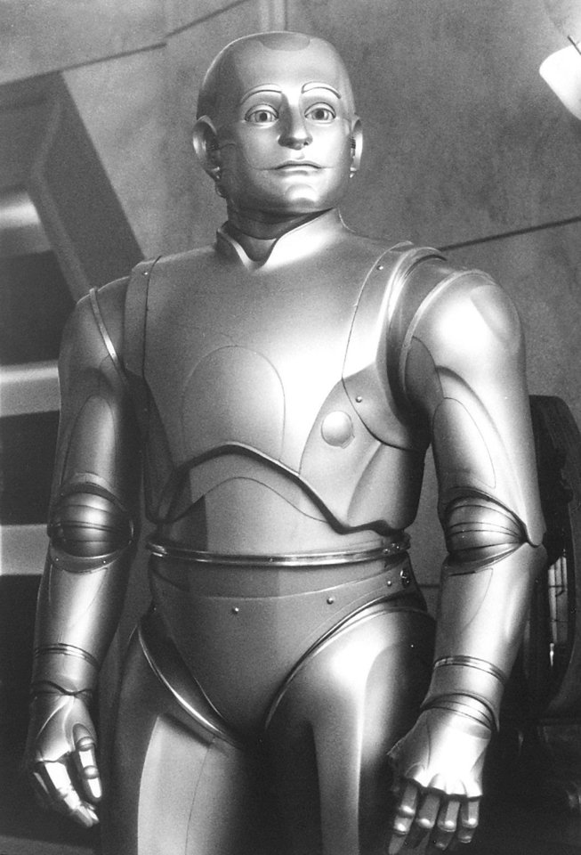 "Photo - Robin Williams stars in the movie ""Bicentennial Man"""