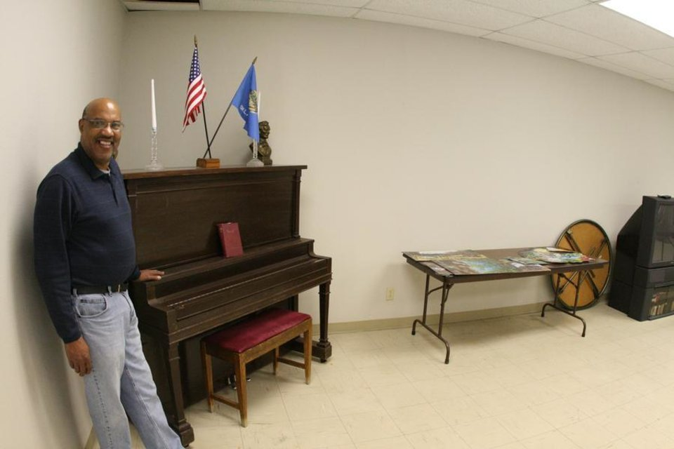 Photo -  Harold Irby has managed the senior citizen center in Chickasha for many years. (Chickasha Express-Star Photo)