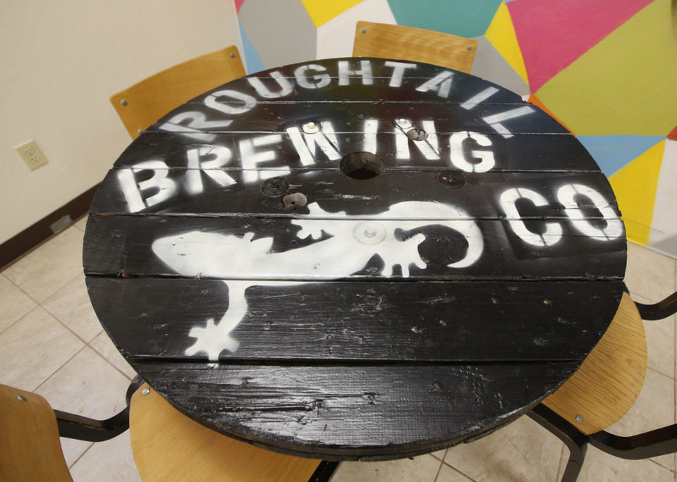 Photo -  Roughtail Brewing Company in Midwest City, Thursday July  24 , 2014. Photo By Steve Gooch, The Oklahoman