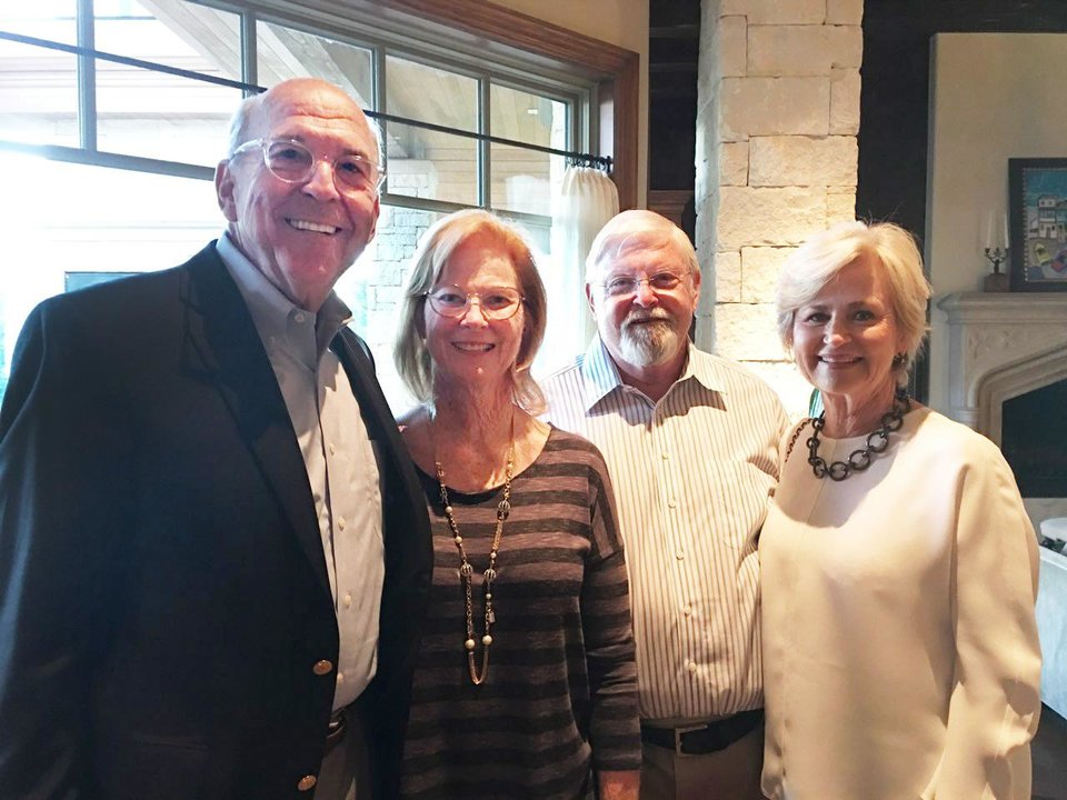 Photo - Ron Bradshaw, Jane Crain, John Crain, Martha Bradshaw. PHOTO BY PAM SHDEED