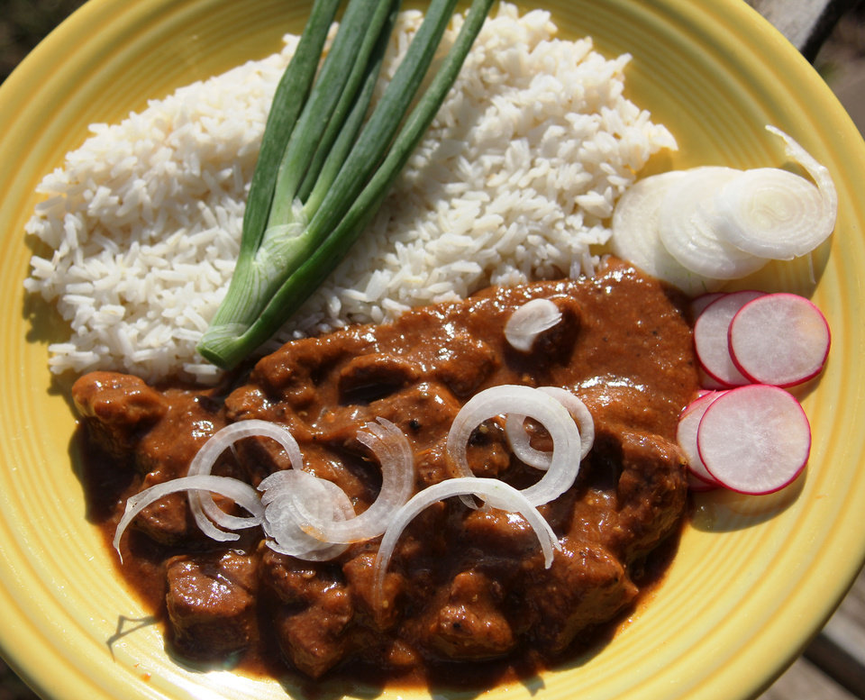 Carne guisada is comfort food from south of the border. <strong>DAVE CATHEY - THE OKLAHOMAN</strong>
