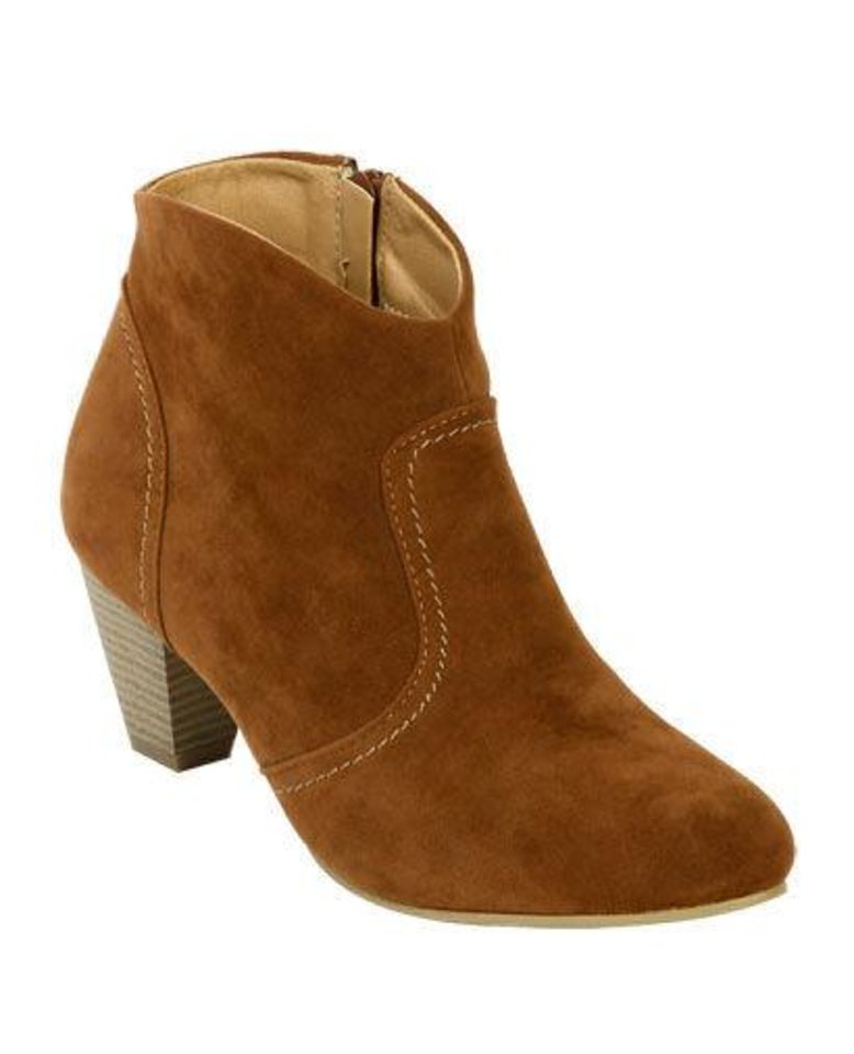 Wet Seal\'s Western Ankle Boot Photo provided