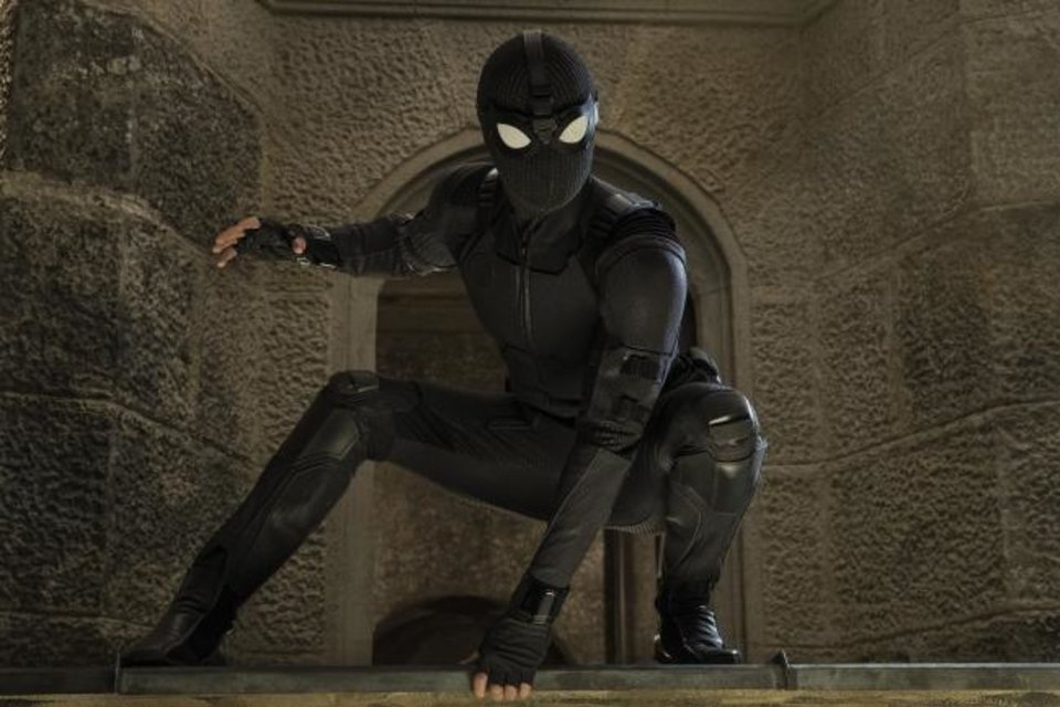 Photo -  This image released by Sony Pictures shows Tom Holland in a scene from
