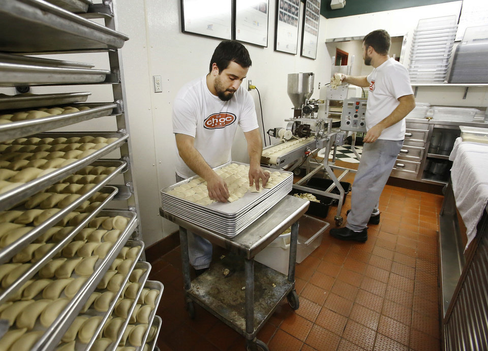 Raviolis are made in house every Thursday at Pete's Place in Krebs. PHOTO BY JIM BECKEL, THE OKLAHOMAN <strong>Jim Beckel - THE OKLAHOMAN</strong>
