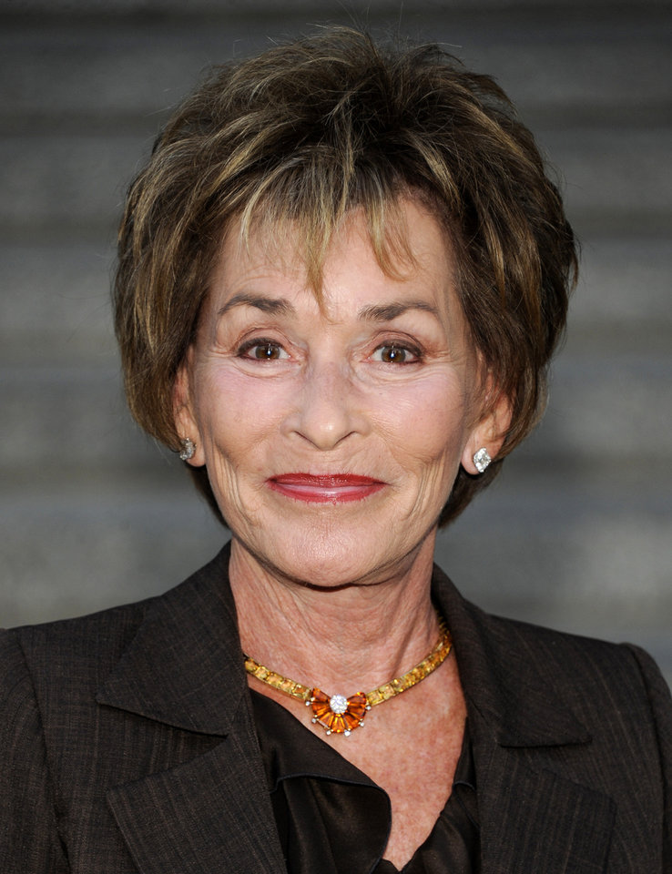 Photo - FILE - In this April 17, 2012 file photo, Judge Judy Sheindlin attends the Vanity Fair Tribeca Film Festival party at the State Supreme Courthouse in New York.