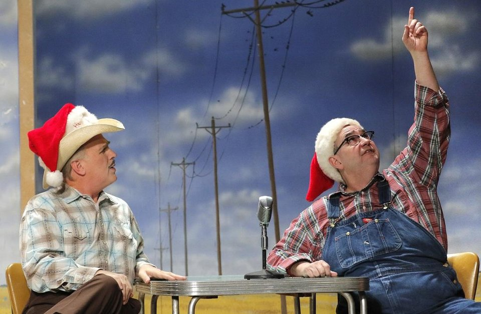 Photo - The cast of Oklahoma City Repertory Theatre's production of