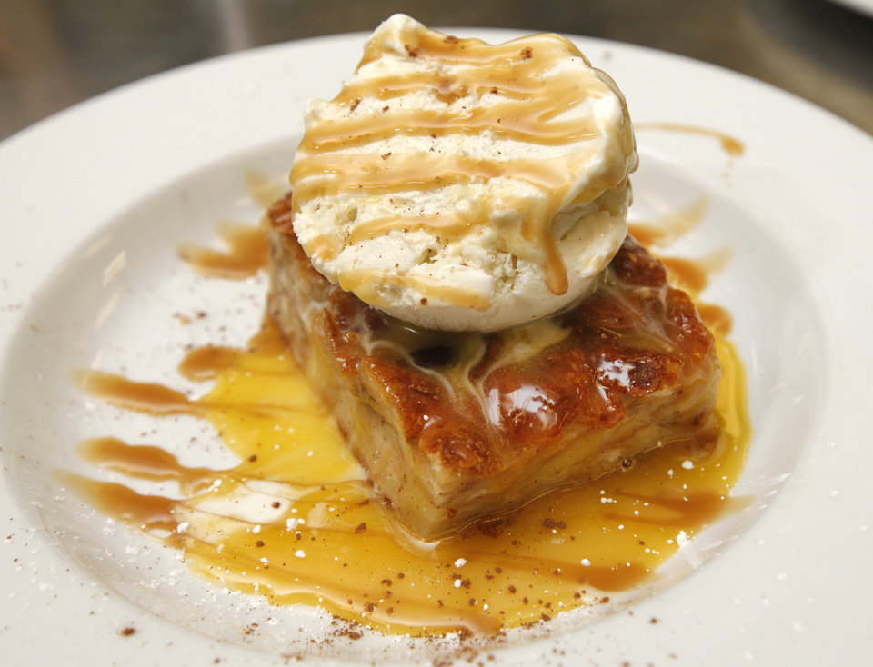 Photo -  Rum Bread Pudding from Zorba's in Oklahoma City, Wednesday April 30, 2014. Photo By Steve Gooch, The Oklahoman   Steve Gooch -  The Oklahoman