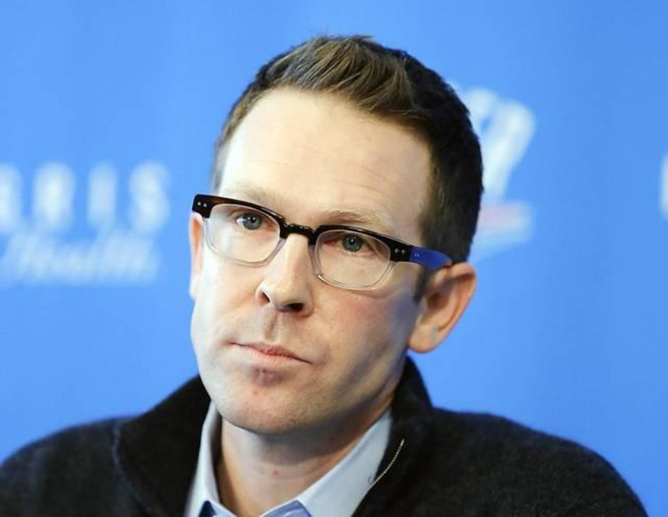 In Presti we trust. (Photo by Sarah Phipps/The Oklahoman)