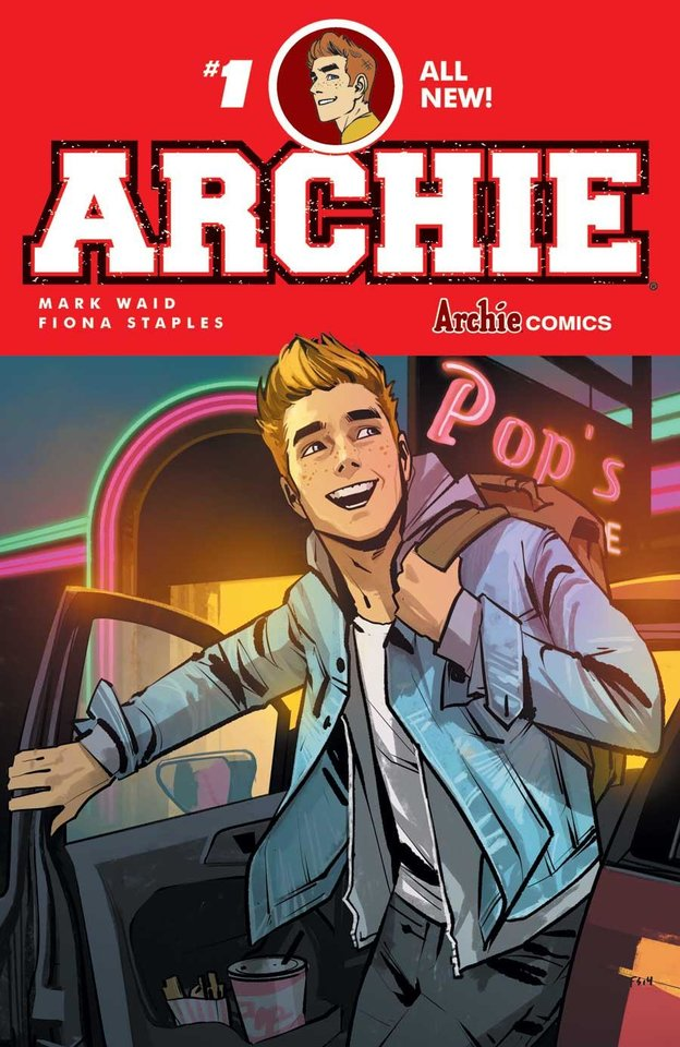 Photo -  Writer Mark Waid and artist Fiona Staples brought a fresh take to the classic Riverdale tropes.  [Archie Comics]