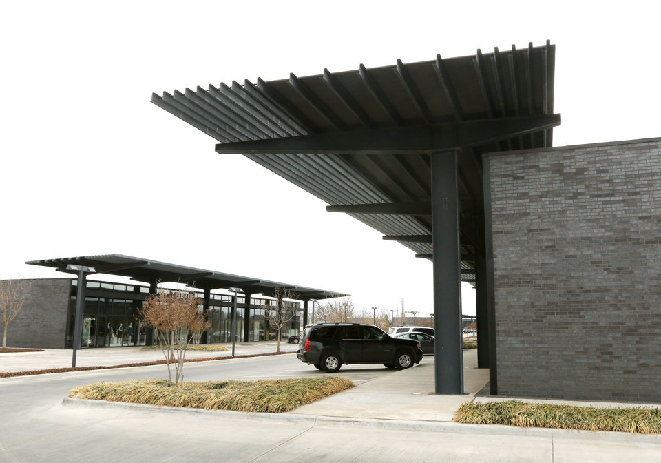 Photo - This is the Classen Curve shopping center in Oklahoma City, OK, Monday, February 24, 2014,  Photo by Paul Hellstern, The Oklahoman