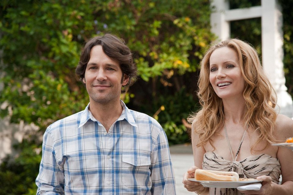 "Paul Rudd and Leslie Mann star in ""This Is 40."" Universal Pictures photo. <strong></strong>"