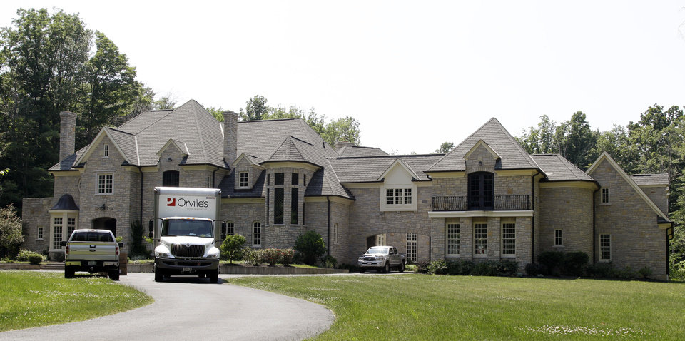 Photo -   This Thursday, June 21, 2012, photo, shows the new home of Buffalo Bills' Mario Williams in Orchard Park, N.Y. (AP Photo/David Duprey)