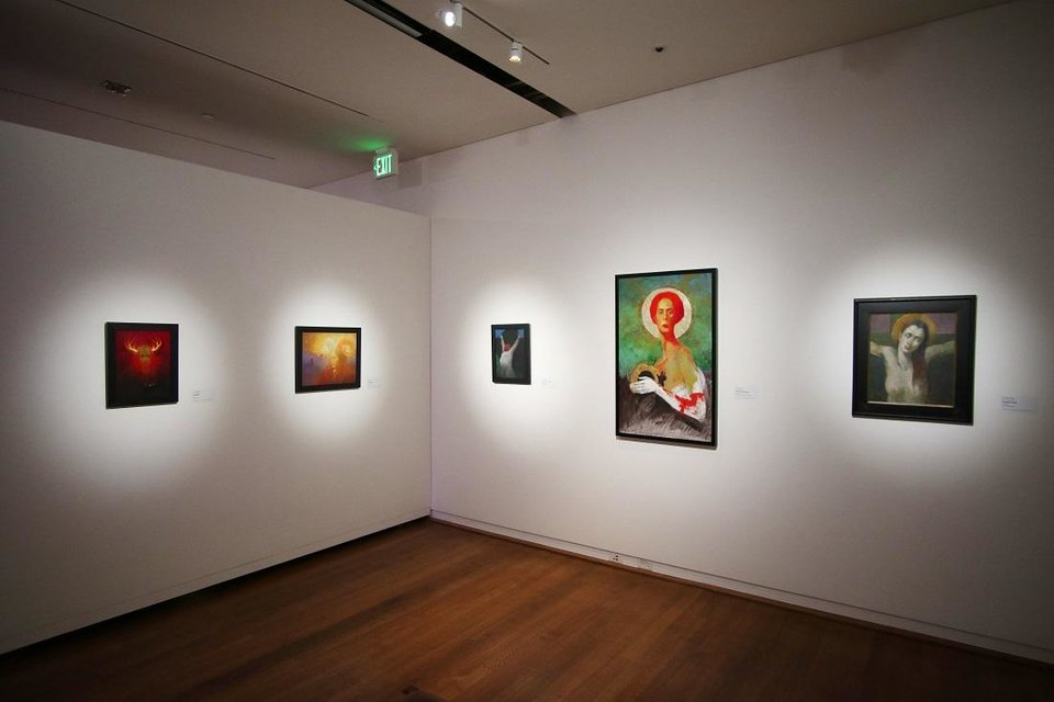 Photo - An exhibit of works by O. Gail Poole titled