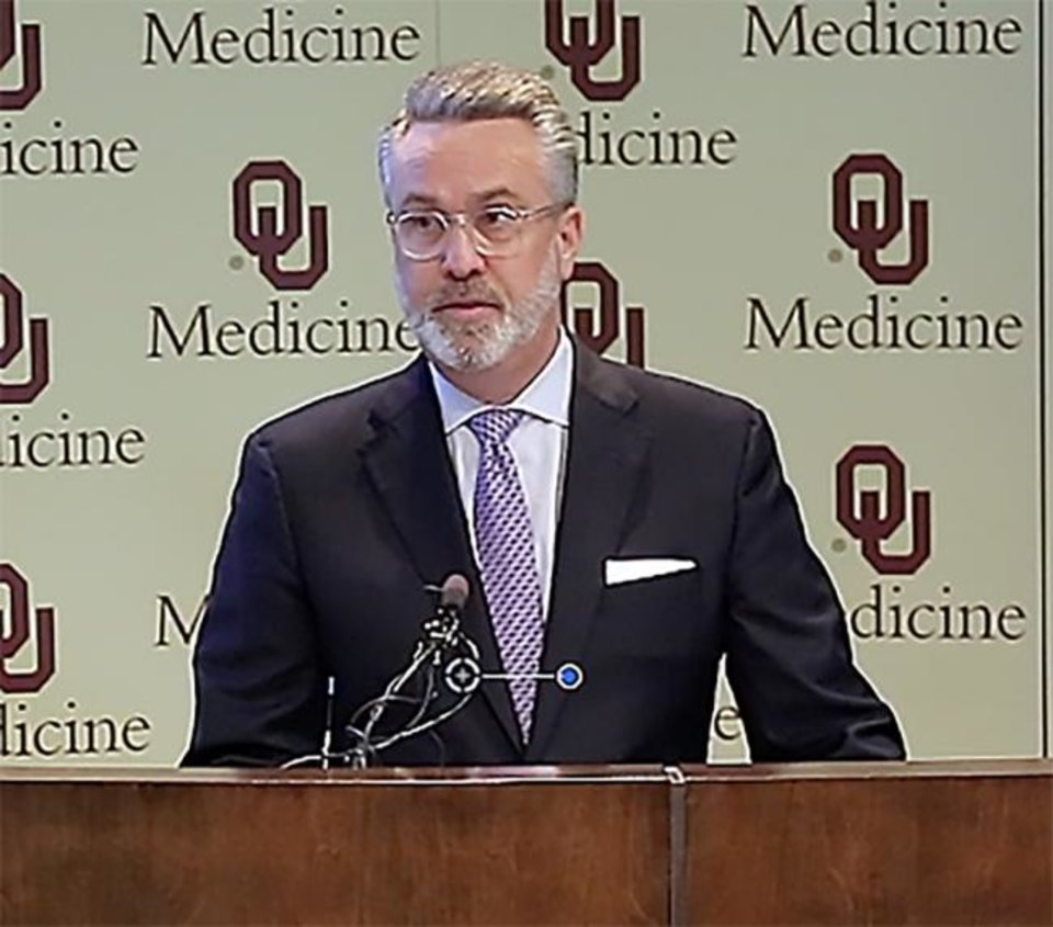 Photo -  Chuck Spicer, President & CEO, OU Medicine