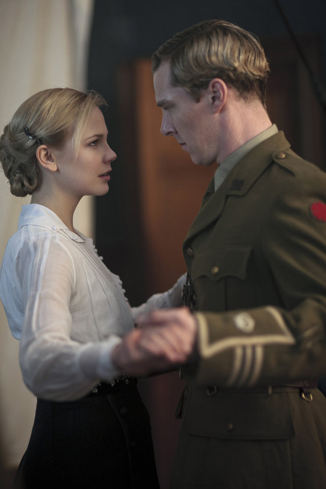 PARADE'S END: Adelaide Clemens, Benedict Cumberbatch. photo: Nick Briggs
