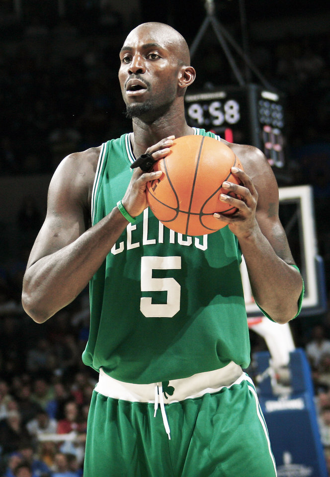 Photo - The Thunder faces Kevin Garnett and the Celtics tonight in Boston.  PHOTO BY NATE BILLINGS,  THE OKLAHOMAN