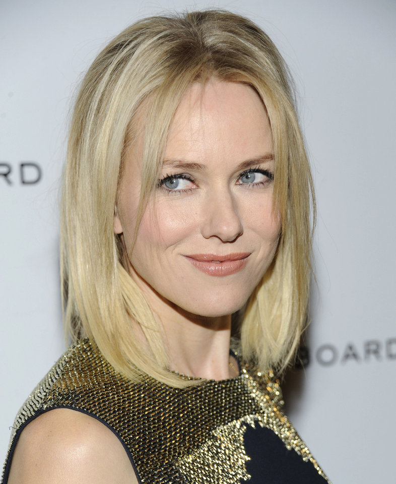 Naomi Watts AP PHOTO <strong>Evan Agostini</strong>