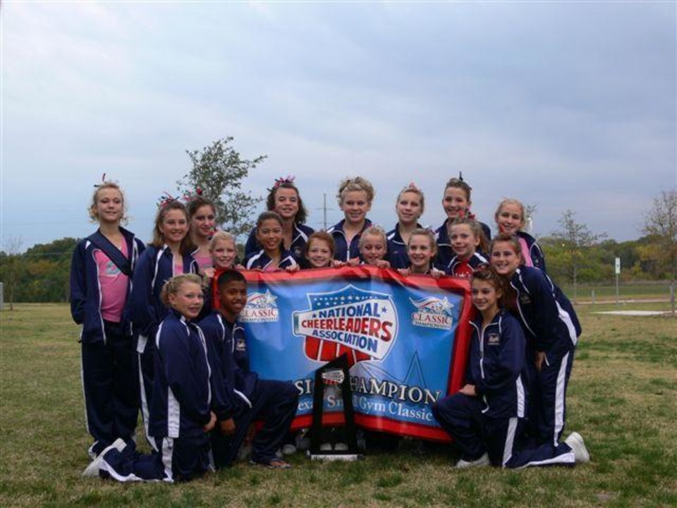 MWC Spirit Of Oklahoma Red squad.1st place at NCA Garland Texas 11/5/2006<br/><b>Community Photo By:</b> Jeff G<br/><b>Submitted By:</b> Jeff, Midwest city