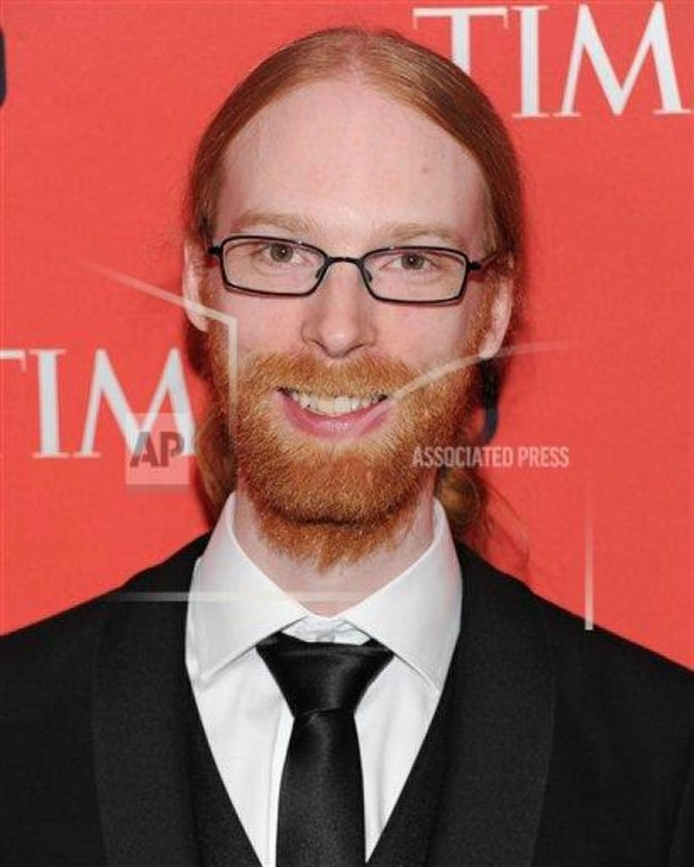 Photo - Minecraft co-creator Jens Bergensten attends the TIME 100 Gala celebrating the ?100 Most Influential People in the World? in New York in June. Bergensten and Markus Persson were honored for developing Minecraft, which encourages open-ended, imaginative play.  ?A lot of people are trying to figure out how to teach 7-year-olds to code, and it's a tricky thing to do,? wrote Will Wright, creator of the game ?SimCity,? at time.com explaining why Time Magazine honored them. ?Minecraft is one of the clear landmarks along that path.?  PHOTO BY EVAN AGOSTINI / INVISION /AP    - PHOTO BY EVAN AGOSTINI / INVISIO