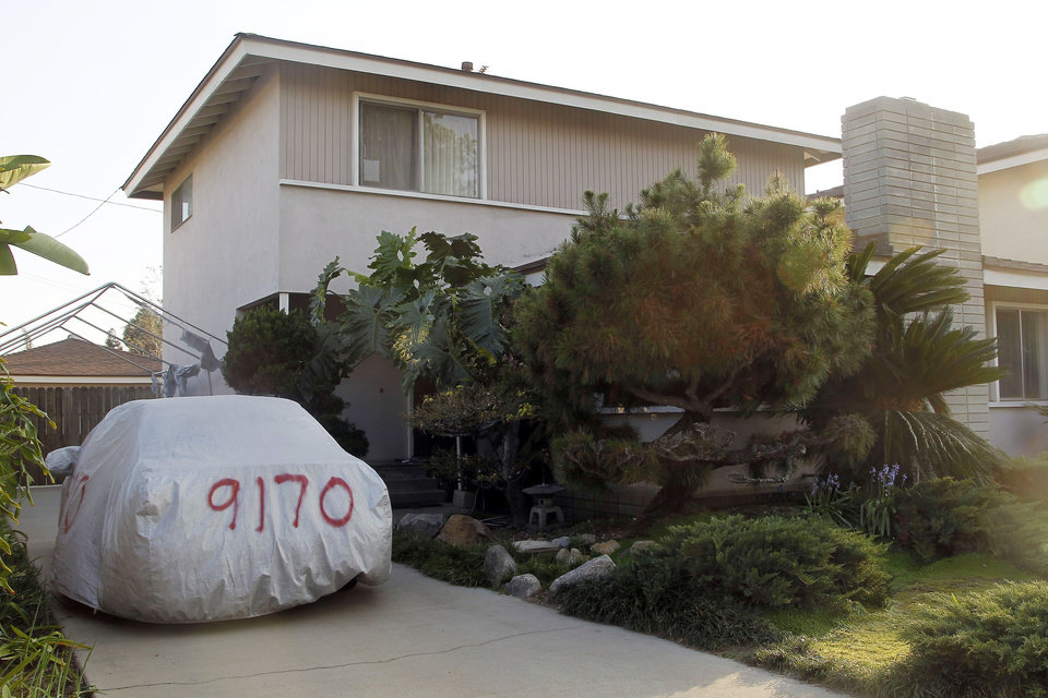 Photo - This image take Thursday March 6, 2014 shows the residence of Dorian S. Nakamoto in Temple City, Calif. Nakamoto, the man that Newsweek claims is the founder of Bitcoin denies he had anything to do with it and says he had never even heard of the digital currency until his son told him he had been contacted by a reporter three weeks ago.   (AP Photo/Nick Ut)