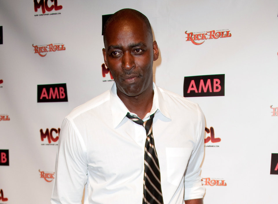 Photo - FILE - In this Oct. 6, 2012 file photo, actor Michael Jace attends WordTheatre presents Storytales at Ford Amphitheater in Los Angeles. Jace is due back in court on Wednesday, June 18, 2014, for arraignment on a murder charge filed after police say he shot and killed his wife, April Jace, on May 19, 2014, in their Los Angeles home. (Photo by Richard Shotwell/Invision/AP, File)