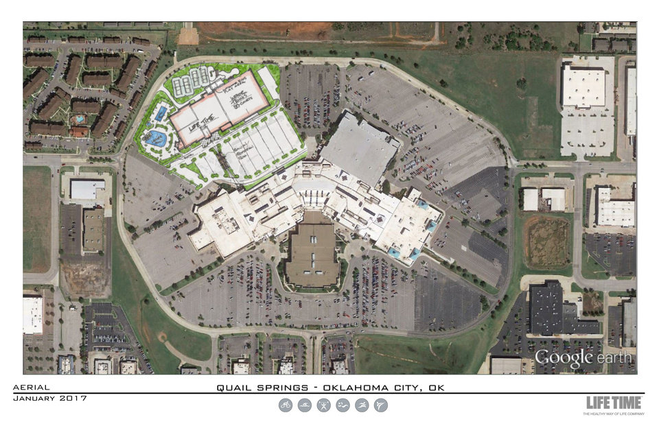 Fitness Business Building At Quail Springs Mall Article