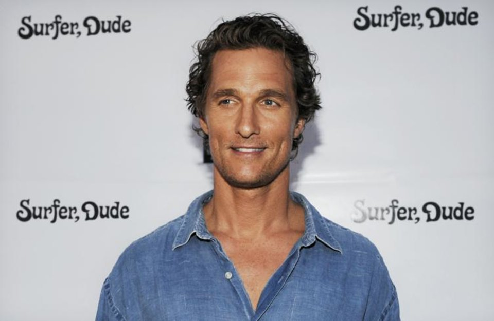 Photo - Matthew McConaughey, producer and star of