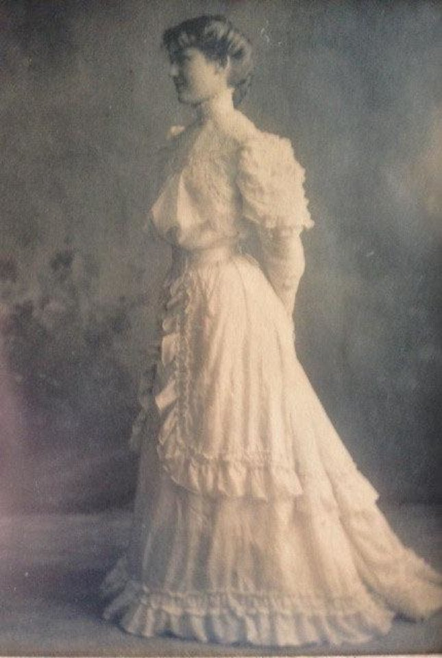 Photo - In January 1906, Mabel McCoy married Early Carruthers Love in a dress made by her mother. The dress was made in a way that reflected the trends of that time, which were still of the Victorian era. Photo provided by Katherine Greenfield.