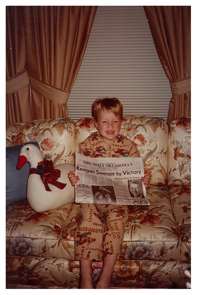 Tony LoPresto at age 5. His sister Miriam was just a baby when this photo was taken in 1984. <strong> - Provided</strong>