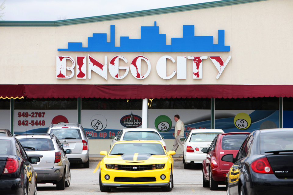 Bingo City is a bingo hall that has been in operation for more than five years at a strip mall in northwest Oklahoma City.  Photo by David McDaniel, The Oklahoman