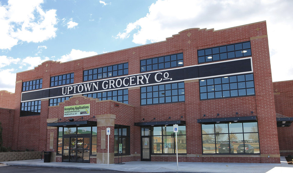 The new Uptown Grocery Co. in Edmond has a look resembling Bricktown. <strong>David McDaniel - The Oklahoman</strong>