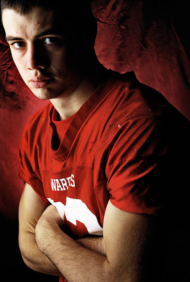 Washington High School's Tyler Simmons All Little City Halfback. 