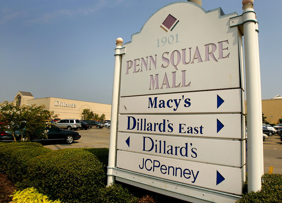 Photo - Penn Square Mall at 1901 Northwest Expressway is shown in this file photo. By Chris Landsberger, The Oklahoman  CHRIS LANDSBERGER