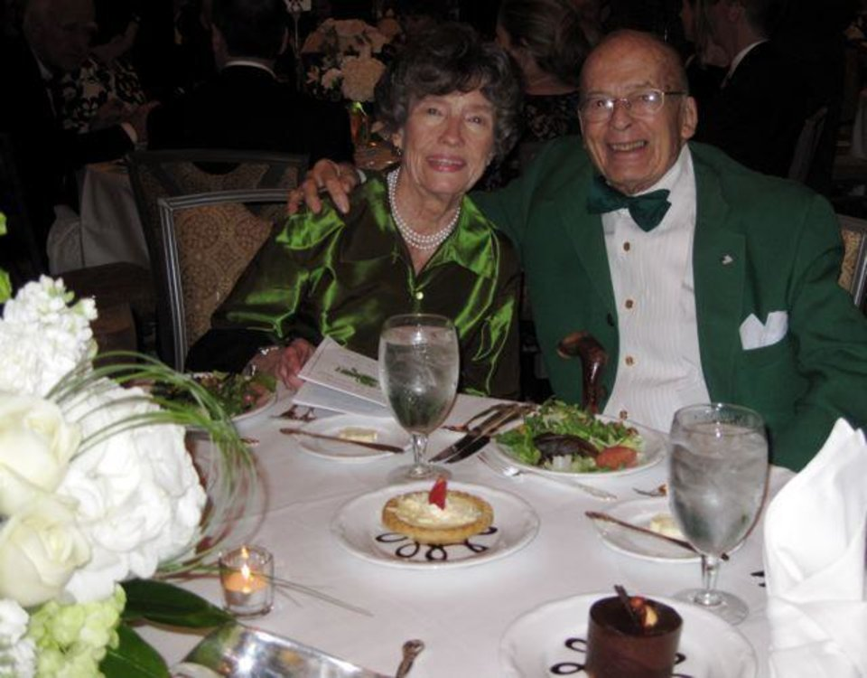 ST. PATRICK'S GRAND MARSHAL BALL...   Stan and Suzie Hupfeld were at  the St. Patrick%u2019s Grand Marshal Ball. (Photos by Helen Ford Wallace).