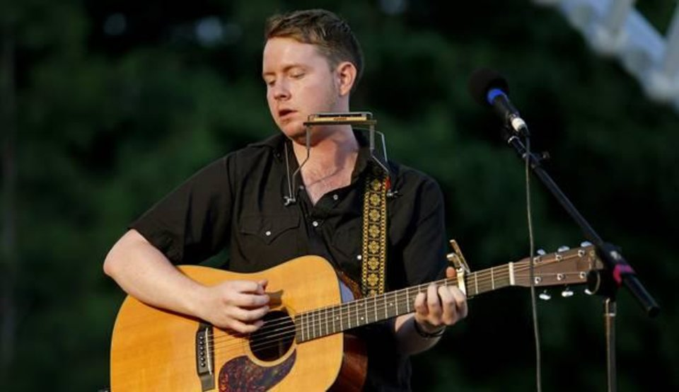 Photo - Oklahoma native John Fullbright will perform Saturday, July 15 at the Woody Guthrie Folk Festival. Photo by Bryan Terry, The Oklahoman Archives