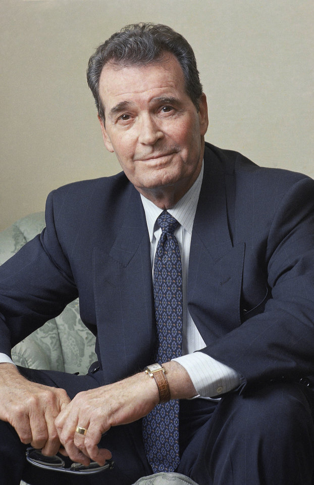 "Photo - FILE - Actor James Garner poses during an interview in New York in this June 2, 1989 file photo. Actor James Garner, wisecracking star of TV's ""Maverick"" who went on to a long career on both small and big screen, died Saturday July 19, 2014 according to Los angeles police. He was 86. (AP Photo/Wyatt Counts, File)"