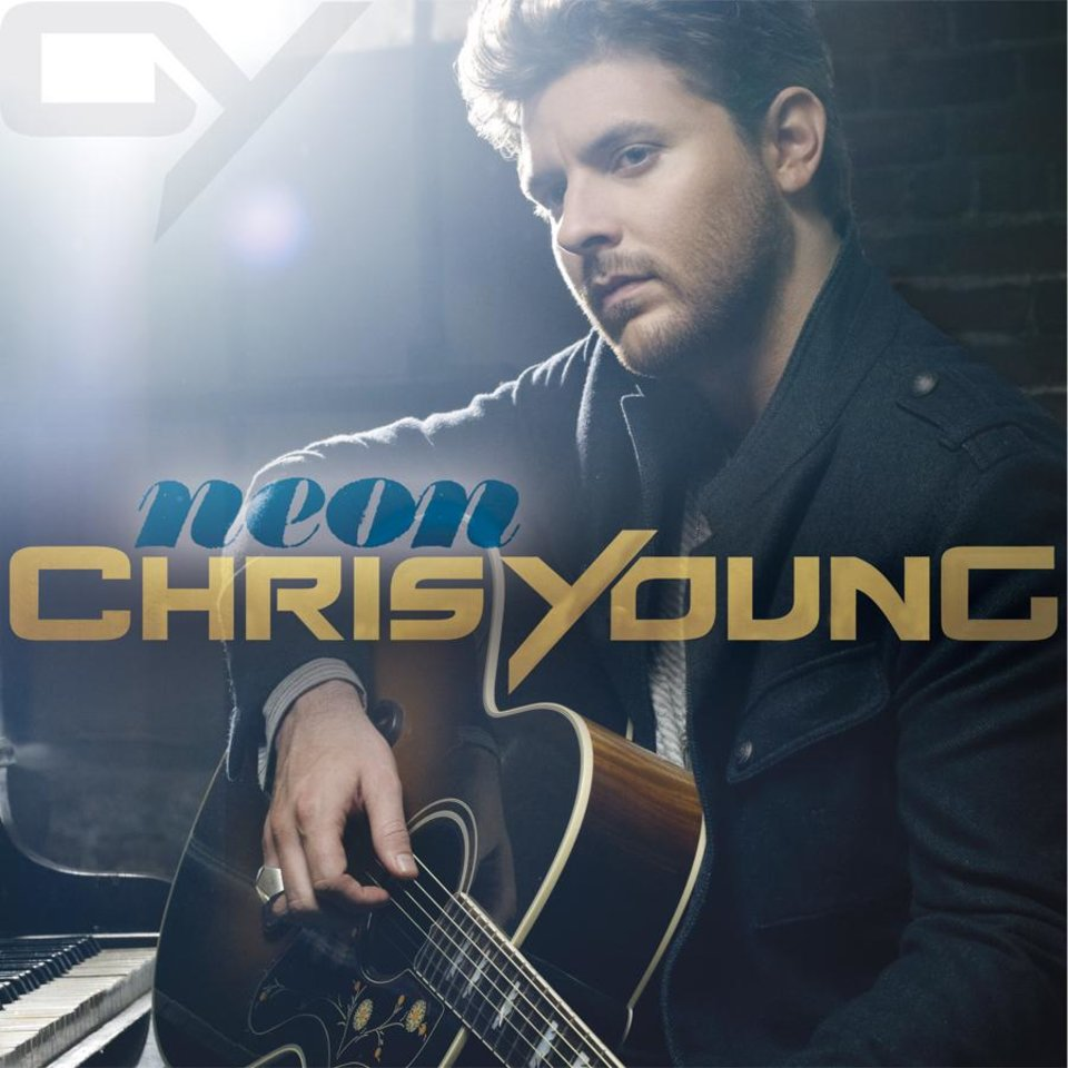 "In this CD cover image released by RCA Records, the latest release by Chris Young, ""Neon,"" is shown. (AP Photo/RCA)"