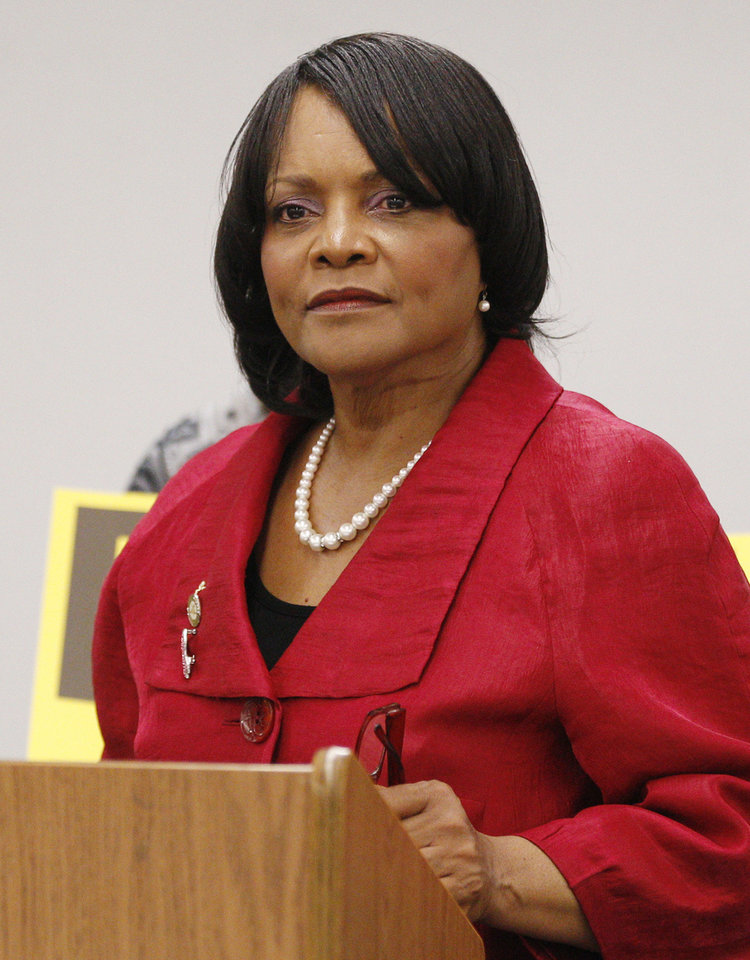 Rep. Constance Johnson D-Oklahoma City