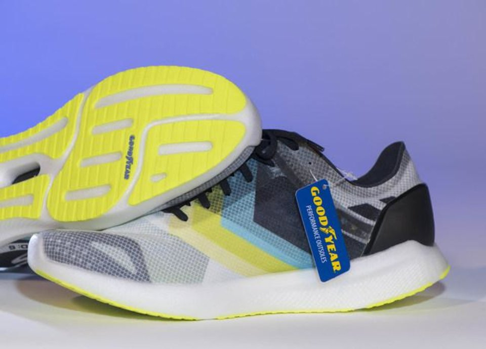 Photo - Skechers and Goodyear partnered on a new line of shoes.